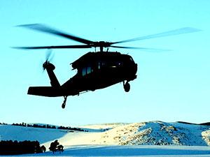 Pülümür'de 12 kişiyi taşıyan polis helikopteri düştü