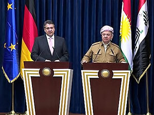 Barzani: Almanya dar günde yanımızdaydı