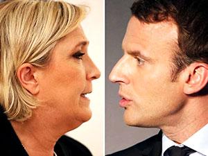 Macron ve Le Pen canlı yayında karşı karşıya geldi