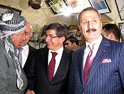 Davutoğlu, Erbil'de çarşıyı-kaleyi gezdi