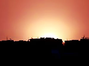 Şam Uluslararası Havalimanı yakınında büyük patlama