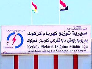Kerkük'te resmi kurumlara Kürdistan bayrağı asıldı