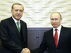 Erdoğan: Putin Suriye'de bir Kürd devletine olumlu bakmıyor