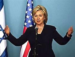 ABD Dışişleri Bakanı Clinton İsrail'de