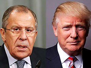 Trump Lavrov'u Beyaz Saray'da ağırlayacak