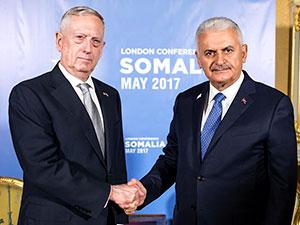 Başbakan Yıldırım ABD Savunma Bakanı'yla görüştü