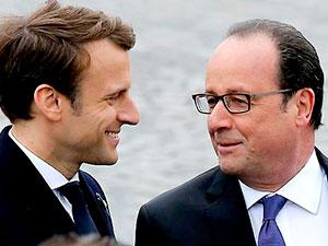 Hollande görevi Macron'a devretti