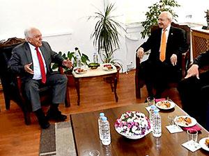 Kılıçdaroğlu, Doğu Perinçek ile görüştü
