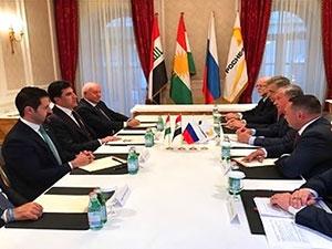Kürdistan heyeti petrol deviyle masada