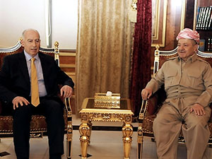 Mesud Barzani, Nuceyfi ile görüştü