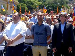Guardiola'dan çağrı: Katalonya'nın bağımsızlığı için oy verin