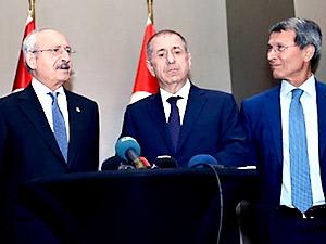 Kılıçdaroğlu, Özdağ ve Halaçoğlu ile görüştü