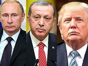 Cumhurbaşkanı Erdoğan, Trump ve Putin'le görüştü
