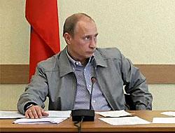 Putin'den AB'ye doğalgaz uyarısı