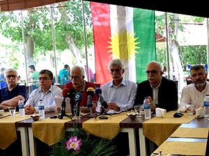 6 Kürt partisi: Güneyli kardeşlerimizin yanındayız