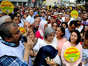 HDP'nin 'Vicdan ve Adalet Nöbeti' İstanbul'da