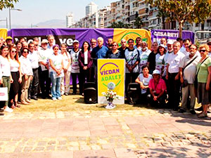 HDP'nin 'Vicdan ve Adalet Nöbeti' sona erdi
