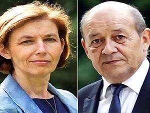 Fransa'nın Dışişleri ve Savunma Bakanları Hewler'e gidiyor