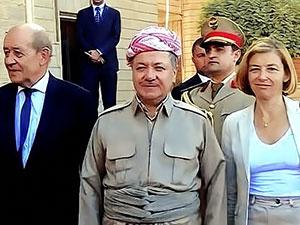 Barzani: Fransa Kürtlerin özgürlük talebini anlayacaktır