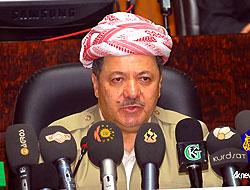 Barzani AP'de konuştu