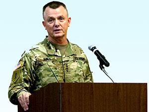 Irak ve Suriye Koalisyon Güçleri Komutanlığı'nda görev değişimi
