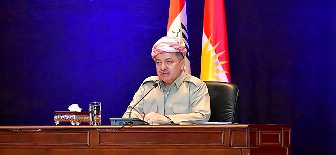 Barzani'ye 'tatbikat'lar soruldu: 'Biz kendi topraklarımıza bakarız'