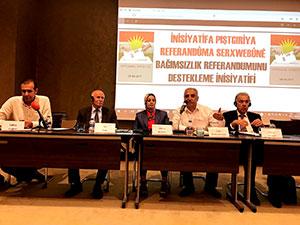 İstanbul'da Bağımsızlık referandumu konferansı yapıldı