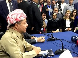 Mesud Barzani Kerkük'te!