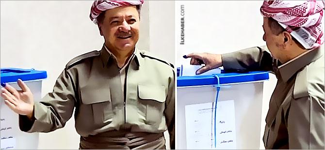 Mesud Barzani oyunu kullandı