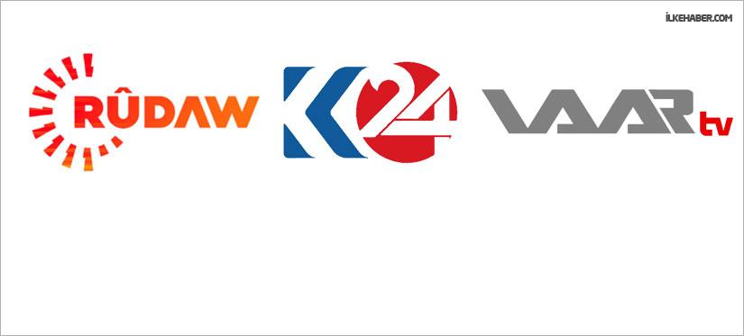 Rudaw, K24 ve Waar TV Türksat'tan çıkardı