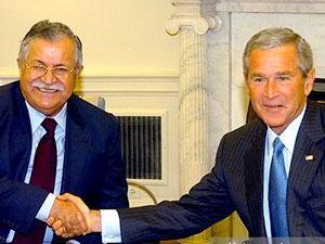 Bush: Talabani halkının özgürlüğü için çalışıyordu