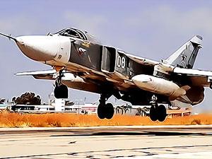Suriye'de Rusya'ya ait Su-24 savaş uçağı düştü