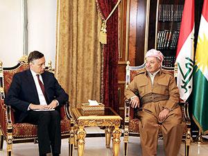 Barzani: Şartsız ve açık bir ajandayla diyaloğa hazırız