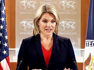 ABD sözcüsü, Kalın'ın açıklamalarını 'komik' buldu