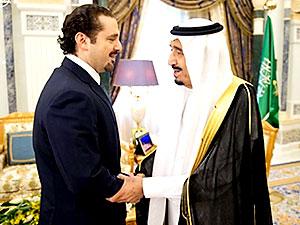 Saad Hariri, Kral Selman ile görüştü