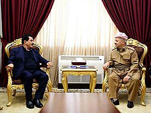 Barzani'den Kosret Resul'e geçmiş olsun telefonu