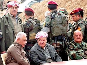 Mesud Barzani Peşmerge komutanları ile görüştü