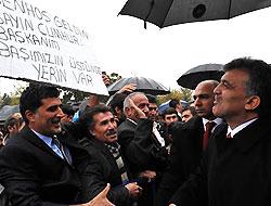 Cumhurbaşkanı Gül'e Tunceli'de Yoğun İlgi