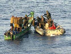 Yunan gemisini Türk askeri kurtardı