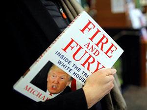 Trump hakkındaki kitap birkaç saatte tükendi