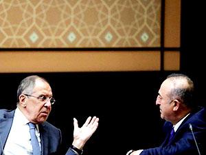 Çavuşoğlu, Lavrov'la telefonda görüştü