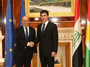 Fransa: Kürdistan'a desteğimiz sürecek