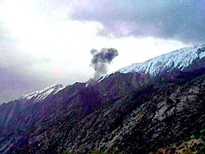 Türk özel jeti İran'da düştü, 11 kişi hayatını kaybetti