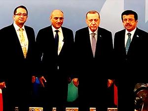 Kürdistan hükümet heyeti İstanbul'da