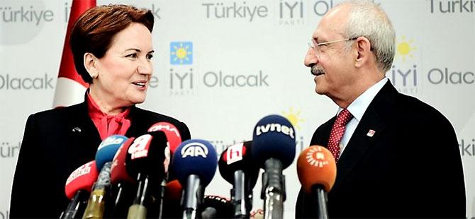 Kılıçdaroğlu ve Akşener'in gizli seçim görüşmesi