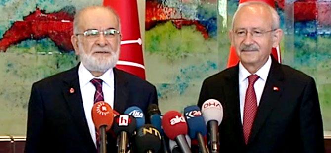 CHP ve Saadet Partisi'nden ortak açıklama