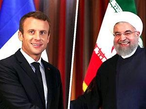 Macron Ruhani ile görüştü: Anlaşmayı sürdürmek istiyoruz