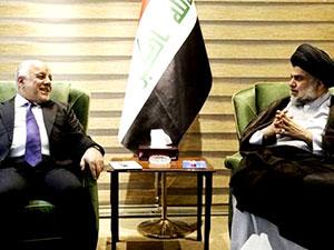 İbadi ile Sadr 'yeni hükümet'i görüştü