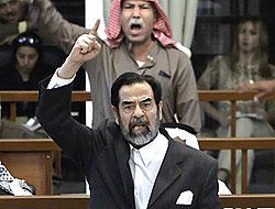 Saddam'ın kalemini kıran hakime bakanlık