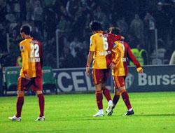Galatasaray Bursa'da yıkıldı